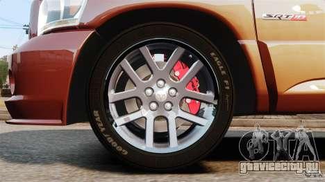 Dodge Ram SRT-10 2006 EPM для GTA 4 вид изнутри