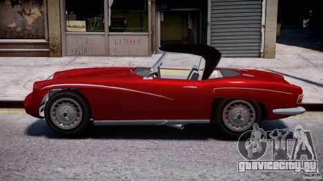 FSO Syrena Sport 1960 для GTA 4 вид слева