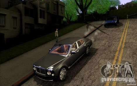 Bentley Mulsanne 2010 v1.0 для GTA San Andreas вид сверху
