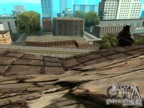 Каменная гора для GTA San Andreas восьмой скриншот