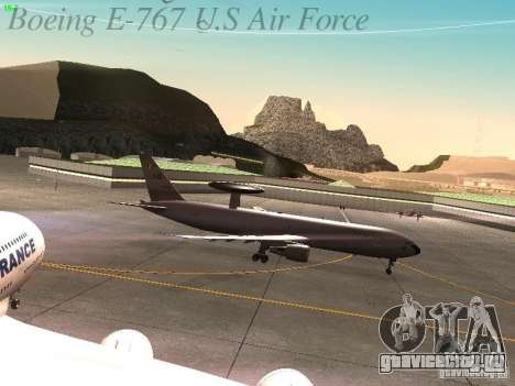 Boeing E-767 U.S Air Force для GTA San Andreas вид изнутри