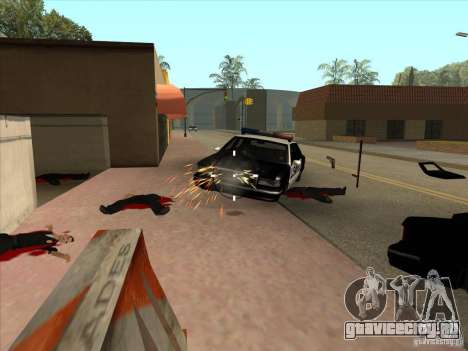 CLEO скрипт: Пулемёт в GTA San Andreas для GTA San Andreas третий скриншот
