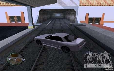 Русские Рельсы для GTA San Andreas третий скриншот