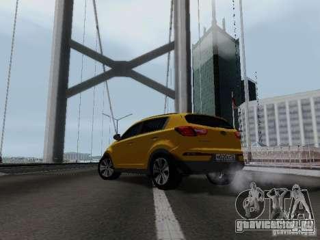 KIA Sportage для GTA San Andreas вид справа