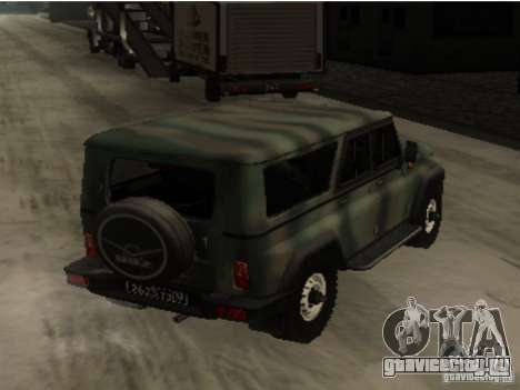 УАЗ-3153 для GTA San Andreas вид справа