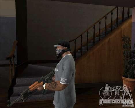 АК-47 модернизированный для GTA San Andreas второй скриншот