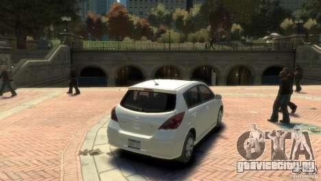 Nissan Versa SL для GTA 4 вид слева