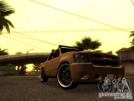 Chevrolet Avalanche Tuning для GTA San Andreas вид слева