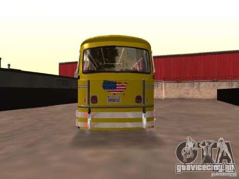Bedford School Bus для GTA San Andreas вид сзади слева