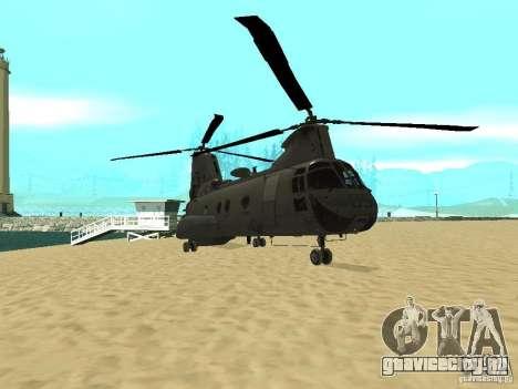 Вертолёт Leviathan для GTA San Andreas вид слева