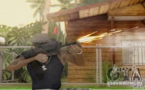 Saiga 12c из Warface для GTA San Andreas пятый скриншот