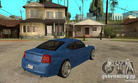 Dodge Charger R/T 2006 для GTA San Andreas