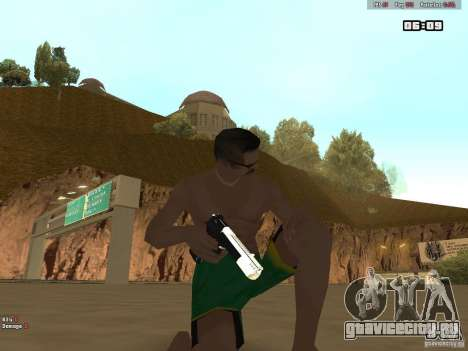 Weapon Pack V1.0 для GTA San Andreas