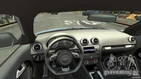 Audi S3 2009 для GTA 4 вид справа