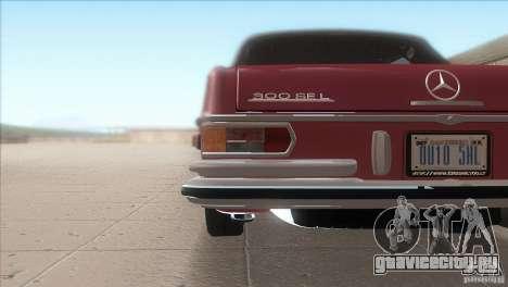 Mercedes-Benz 300 SEL для GTA San Andreas вид сверху