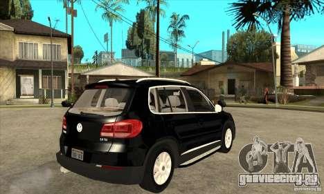 Volkswagen Tiguan 2.0 TDI 2012 для GTA San Andreas вид справа