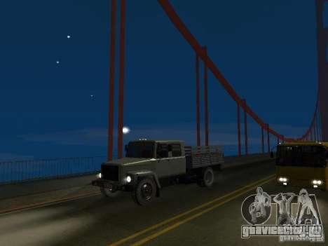 ГАЗ 3309 Егерь для GTA San Andreas вид справа