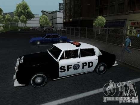 Stafford Police SF для GTA San Andreas вид слева