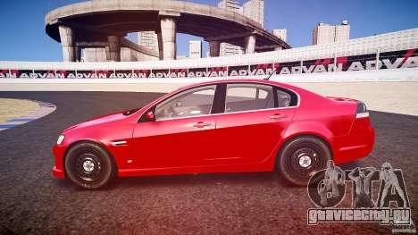 Holden Commodore (CIVIL) для GTA 4 вид сбоку
