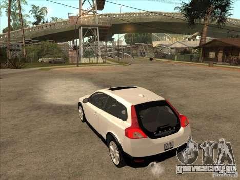 Volvo C30 для GTA San Andreas вид справа