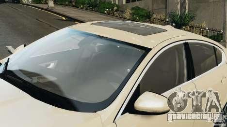 Jaguar XFR 2010 v2.0 для GTA 4 вид слева