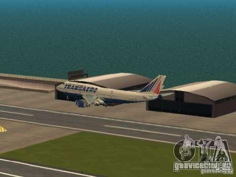 Boeing 747-400 для GTA San Andreas вид сбоку