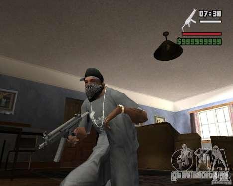 Mp5HD для GTA San Andreas второй скриншот