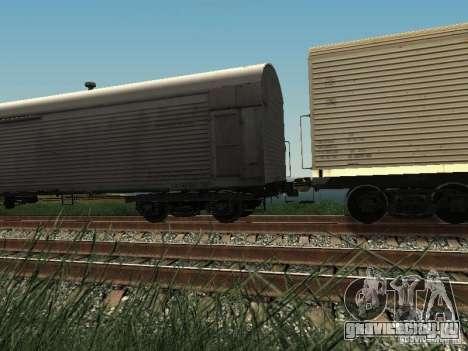 Изотермический вагон ХСТ для GTA San Andreas вид слева