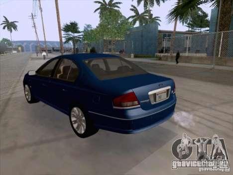 Ford Falcon Fairmont Ghia для GTA San Andreas вид справа