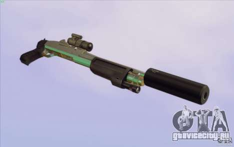 Low Chrome Weapon Pack для GTA San Andreas одинадцатый скриншот