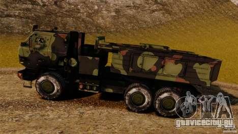 M142 HIMARS для GTA 4 вид слева