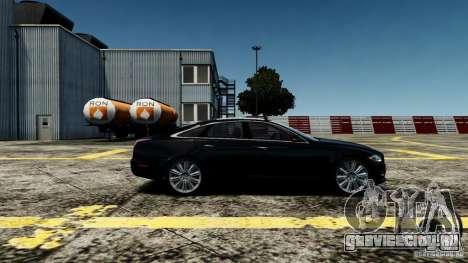 Jaguar XJ 2012 для GTA 4 вид слева