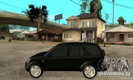 Honda CRV (MK2) для GTA San Andreas вид слева