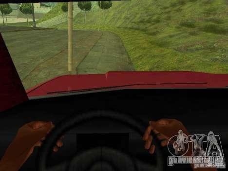Picador для GTA San Andreas вид сзади