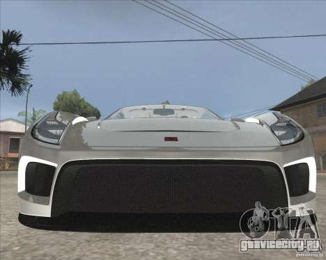Saleen S5S Raptor для GTA San Andreas вид сзади