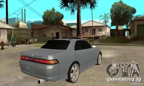 TOYOTA MARK II GT для GTA San Andreas вид справа