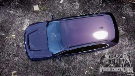 BMW X5 xDrive 4.8i 2009 v1.1 для GTA 4 вид справа
