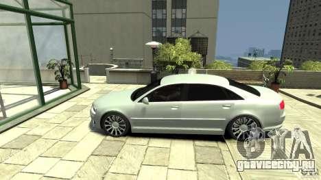 Audi A8 4.2 QUATTRO beta для GTA 4 вид слева