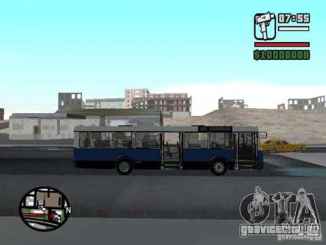 Ikarus 415.02 для GTA San Andreas вид справа