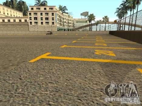 Новые текстуры стадиона Los Santos Forum для GTA San Andreas пятый скриншот