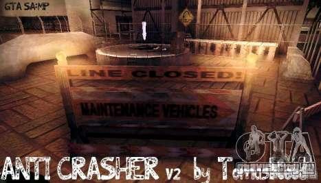 Анти-Crash для GTA SA:MP [v2.0] для GTA San Andreas