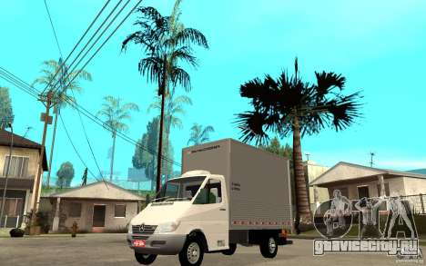 Mercedes-Benz Sprinter Truck для GTA San Andreas