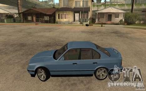 BMW E34 535i 1994 для GTA San Andreas вид слева