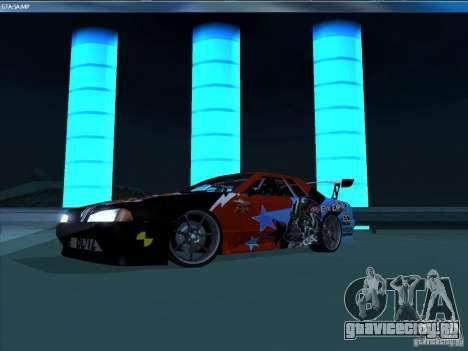 Винил EvilEmpire для GTA San Andreas вид слева