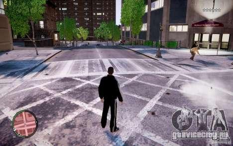 Костюм Adidas для GTA 4 третий скриншот