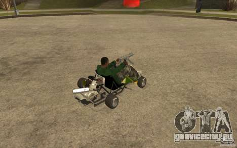 Hayabusa Kart для GTA San Andreas вид справа
