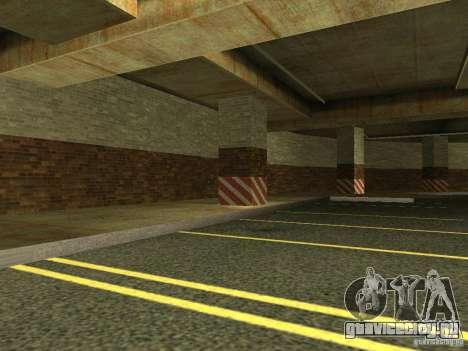 Новый подземный гараж полиции в Лос Сантосе для GTA San Andreas третий скриншот