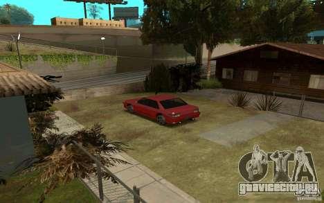 Спортивные машины возле Грув Стрит для GTA San Andreas второй скриншот