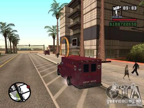Скорая помощь из GTA IV для GTA San Andreas вид слева