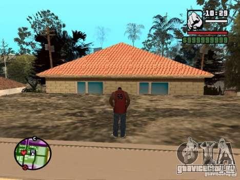 Ванная CJ для GTA San Andreas второй скриншот